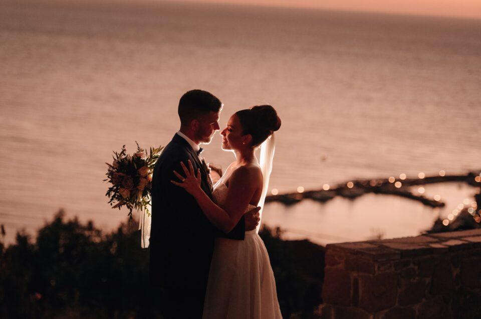 Giuseppe & Εύη – Γάμος στη Λέσβο